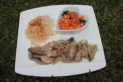 Schnelles Pak Choi-Karotten-Gemüse 39