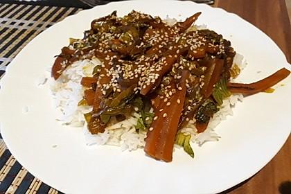 Schnelles Pak Choi-Karotten-Gemüse 18