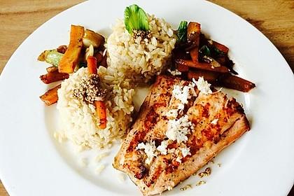 Schnelles Pak Choi-Karotten-Gemüse 26