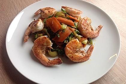 Schnelles Pak Choi-Karotten-Gemüse 11