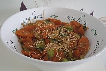 Schnelles Pak Choi-Karotten-Gemüse 8