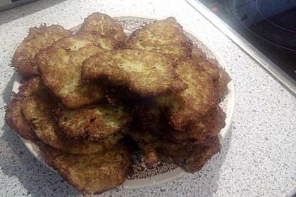 Reibekuchen, Kartoffelpuffer 4