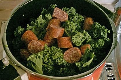 Grünkohl-Eintopf im Schnellkochtopf 2
