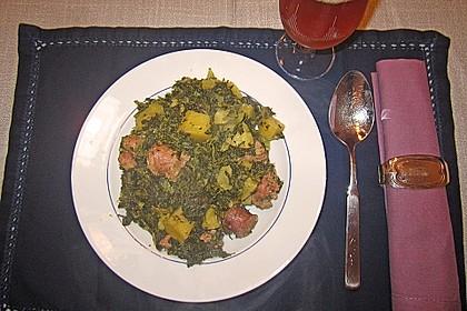 Grünkohl-Eintopf im Schnellkochtopf 1