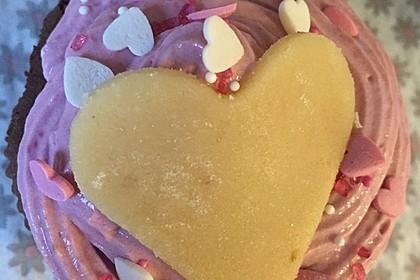 Schoko-küsst-Himbeer Cupcakes 39