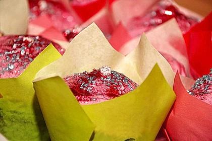 Schoko-küsst-Himbeer Cupcakes 79