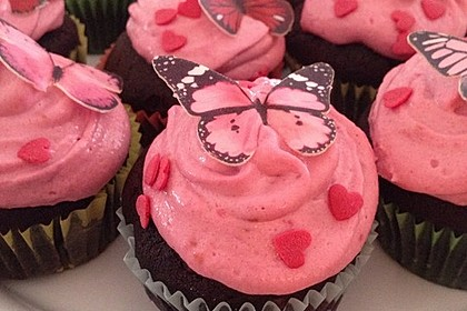 Schoko-küsst-Himbeer Cupcakes 3