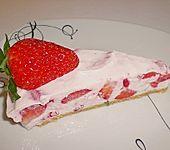 Erdbeer-Frischkäse Torte (Bild)