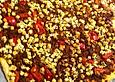 Blätterteig mit Hackfleisch, Schafskäse und Paprika