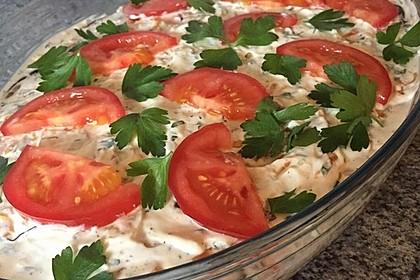 Auberginen-Tomaten-Schichtsalat 4
