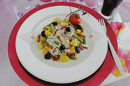 Mediterraner Bohnen-Kartoffel-Salat de Luxe 1