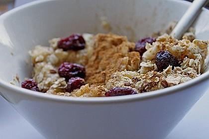 Schneller Frucht-Porridge