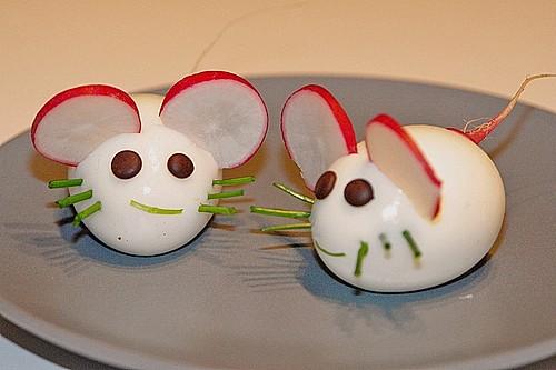 Deko für das büfett zum kindergeburtstag kreatives gemüse