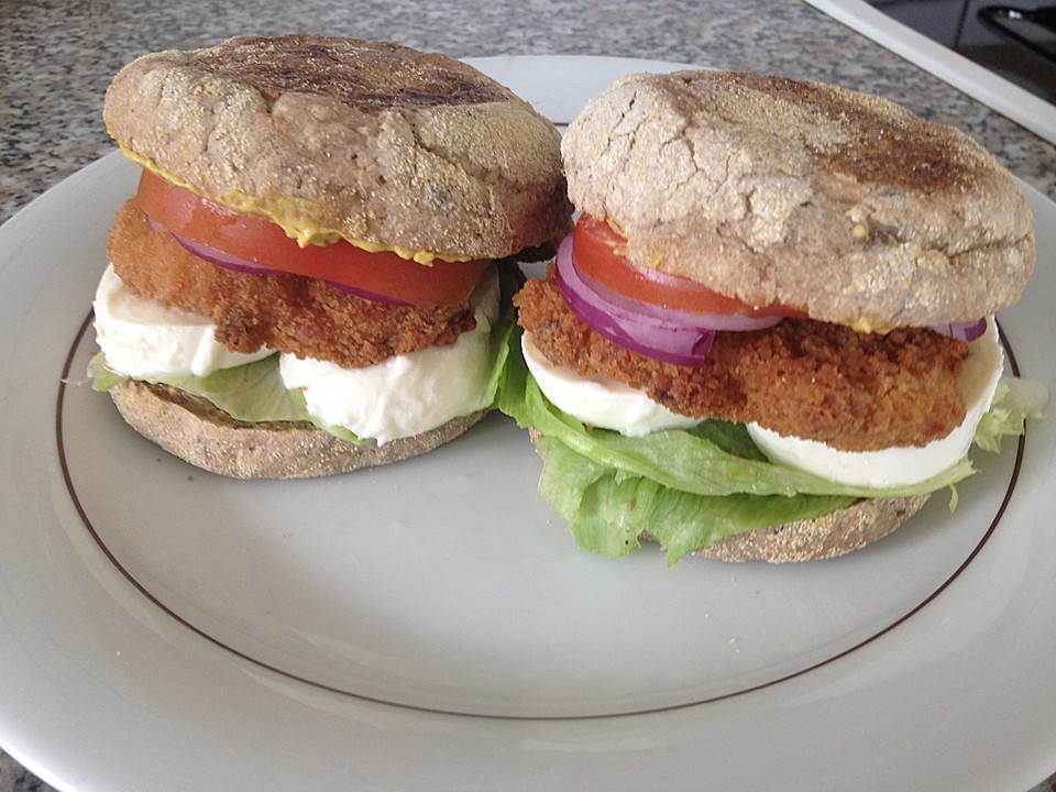 h hnchen burger rezept mit bild von cooking pilotegirl. Black Bedroom Furniture Sets. Home Design Ideas