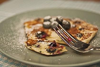 Blaubeer-Pancakes 2
