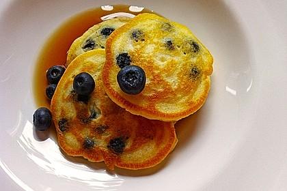 Blaubeer-Pancakes 4