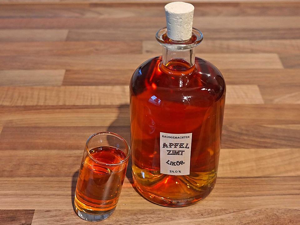 Apfel zimt lik r rezept mit bild von kristina muc - Alkohol tinte selber machen ...