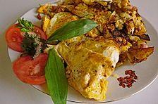 Bauernfrühstück mit Frühlingswildkräutern