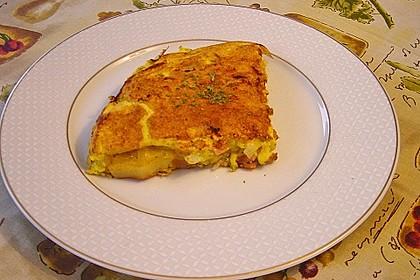 Bauernfrühstück mit Frühlingswildkräutern 6
