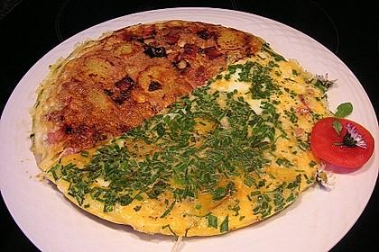 Bauernfrühstück mit Frühlingswildkräutern 2