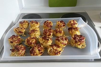 Spaghetti Carbonara-Muffins 20