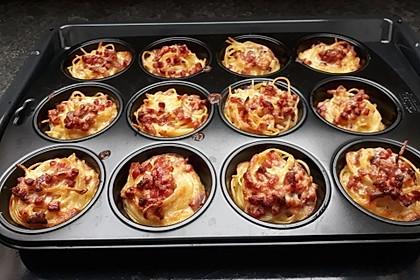 Spaghetti Carbonara-Muffins 19