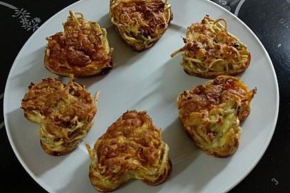 Spaghetti Carbonara-Muffins 81