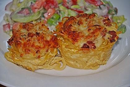 Spaghetti Carbonara-Muffins 26