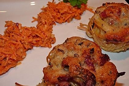 Spaghetti carbonara-Muffins 52