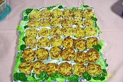 Spaghetti carbonara-Muffins 61