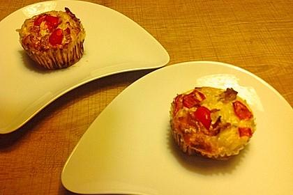 Spaghetti carbonara-Muffins 49
