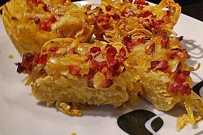 Spaghetti carbonara-Muffins 43