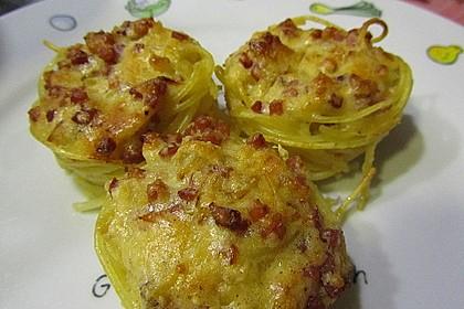 Spaghetti carbonara-Muffins 24