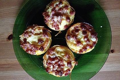 Spaghetti carbonara-Muffins 54