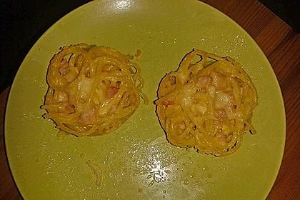Spaghetti carbonara-Muffins 58