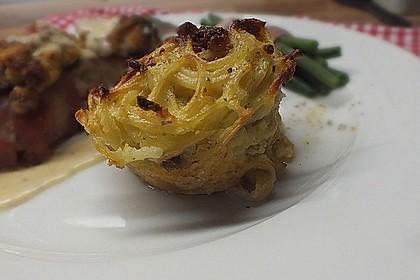 Spaghetti carbonara-Muffins 38
