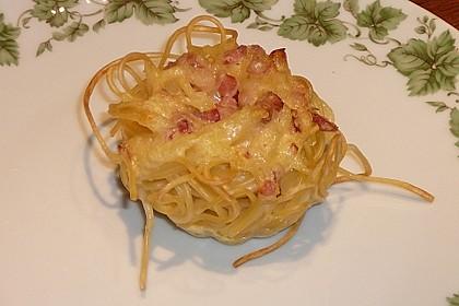 Spaghetti carbonara-Muffins 27