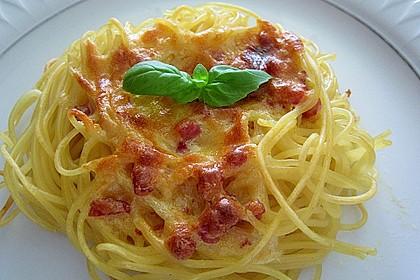 Spaghetti carbonara-Muffins 31