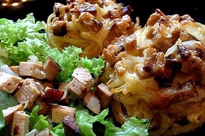 Spaghetti Carbonara-Muffins 23