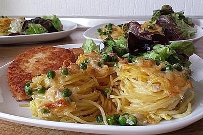 Spaghetti carbonara-Muffins 1