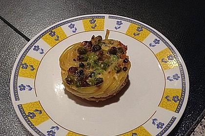 Spaghetti Carbonara-Muffins 64