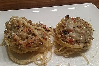 Spaghetti carbonara-Muffins 48