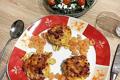 Spaghetti carbonara-Muffins 14