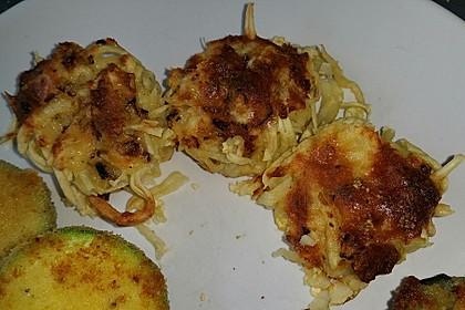 Spaghetti carbonara-Muffins 53