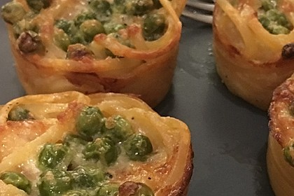 Spaghetti Carbonara-Muffins 32