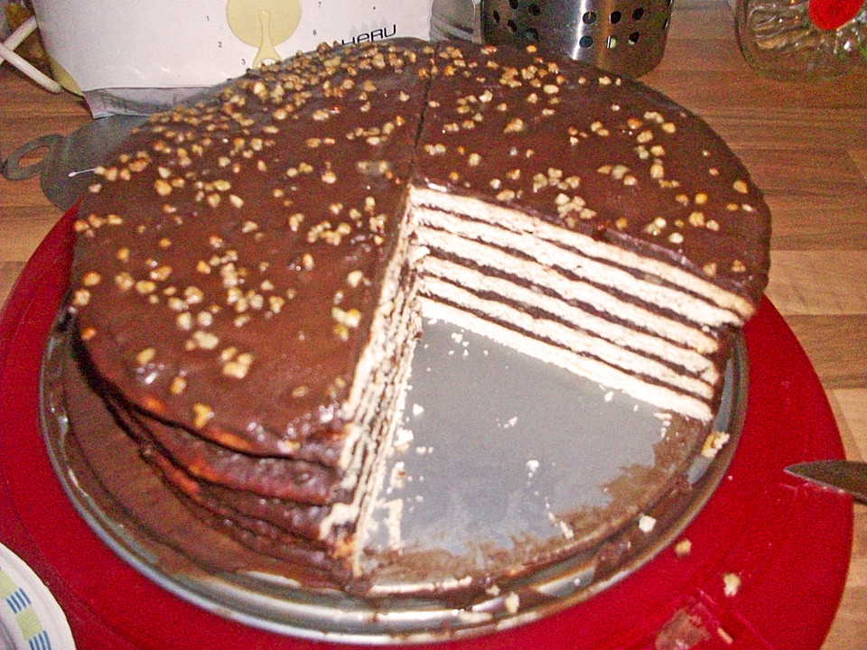 Kroatischer schokoladenkuchen rezept