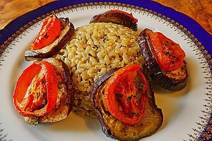 Tomaten-Auberginen Auflauf 1