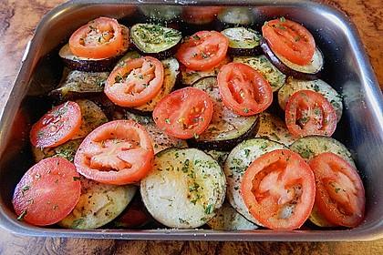 Tomaten-Auberginen Auflauf 2