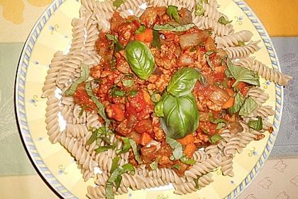 Pasta Bolognese, vegetarisch bzw. vegan 5