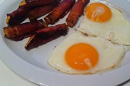 Süßkartoffeln mit Bacon und Eiern 6